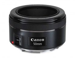 Canon EF 50mm f/1.8 STM Autofocus Lens