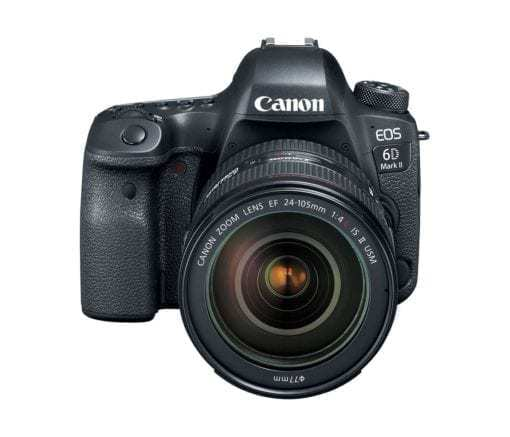 Canon 26.2 EOS 6D Mark II EF 24-105mm USM Kit with 3 LCD