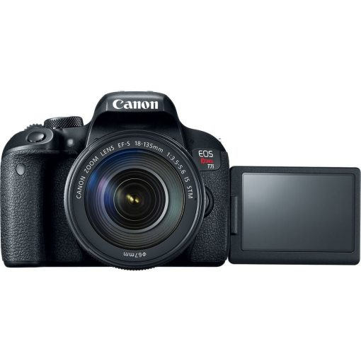 Canon EOS Rebel T7i 24.2MP Digital SLR Camera with 18-135mm Lens