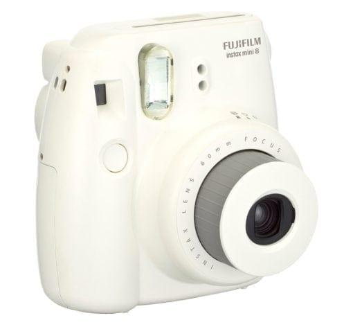 Fujifilm Instax Mini 8 Instant Film Camera (White)