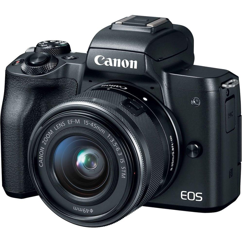 canon eos m50 mirrorless camera kit w ef m 15 45mm lens 4k video rh photo4less com