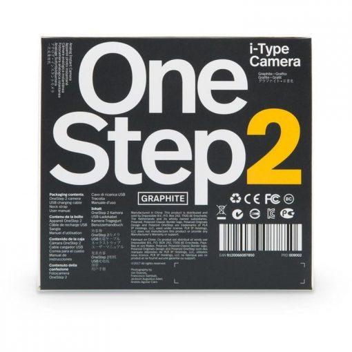 Polaroid Originals OneStep 2 Instant Film Camera, Graphite Black