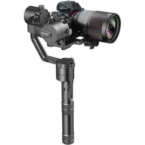 Zhiyun Crane 3-Axis Handheld Gimbal for DSLR & Mirrorless Cameras, CNC Aluminum Alloy Construction w/ 360? Brushless Motors, 1-Year Warranty