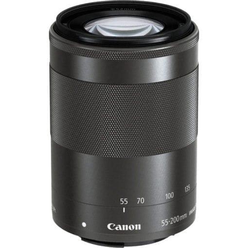 Canon EF-M 55-200mm f/4.5-6.3 Image Stabilization STM Lens (Black)
