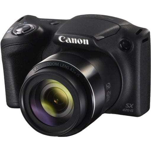 Canon PowerShot SX420 Digital Camera w/ 42x Optical Zoom – Wi-Fi & NFC Enabled (Black)