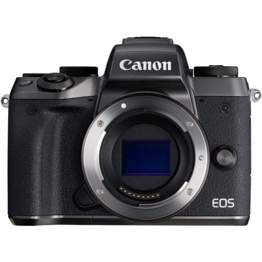 Canon EOS M5 Mirrorless Camera Body – Wi-Fi Enabled & Bluetooth