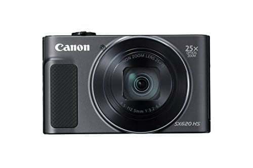 Canon PowerShot SX620 Digital Camera w/25x Optical Zoom – Wi-Fi & NFC Enabled (Black)