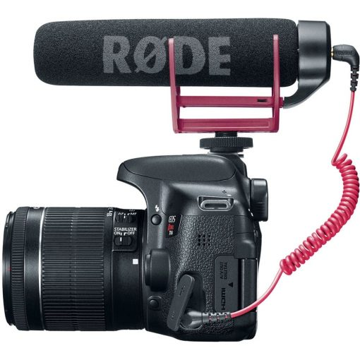 Canon T6i Video Creator Kit with 18-55mm Lens, Rode VIDEOMIC GO & 32GB Memory Card