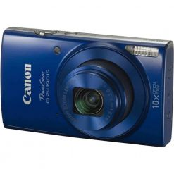 Canon PowerShot ELPH 190 IS with 10x Optical Zoom and Built-In Wi-Fi (Blue)