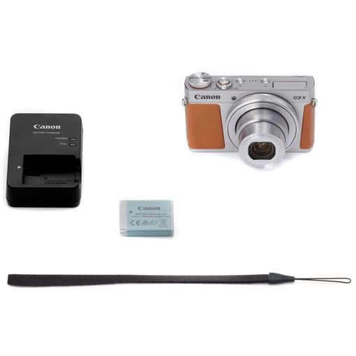 New Canon PowerShot G9 X Mark II Digital Camera (Silver)