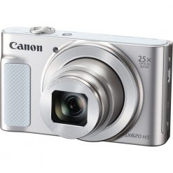 Canon PowerShot SX620 Digital Camera w/25x Optical Zoom - Wi-Fi & NFC Enabled (Silver)