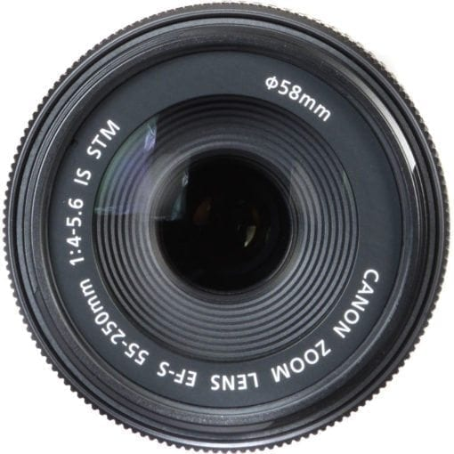 Canon EF-S 55-250mm F4-5.6 IS STM Lens for Canon SLR Cameras
