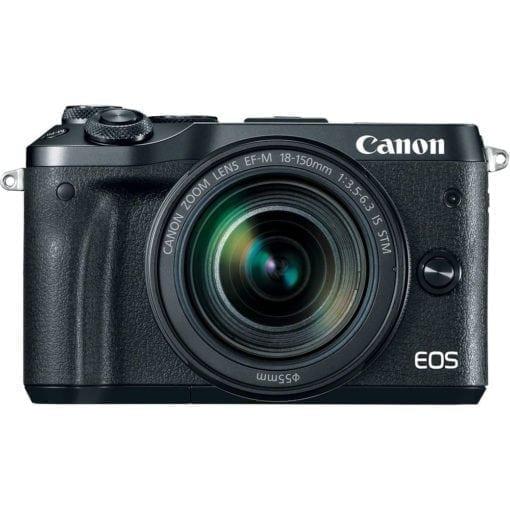 Canon EOS M6 18-150mm f/3.5-6.3 IS STM Kit (Black)