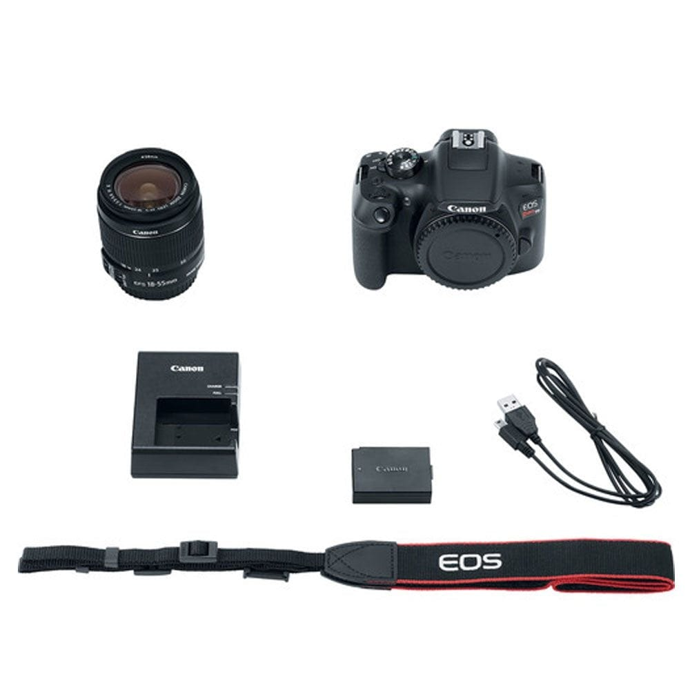 Photo4Less   Canon Rebel T6 Bundle with 18-55mm Lens Accessory Kit