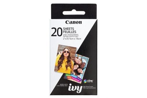 Canon 2 x 3″ ZINK Photo Paper Pack, 20 sheets