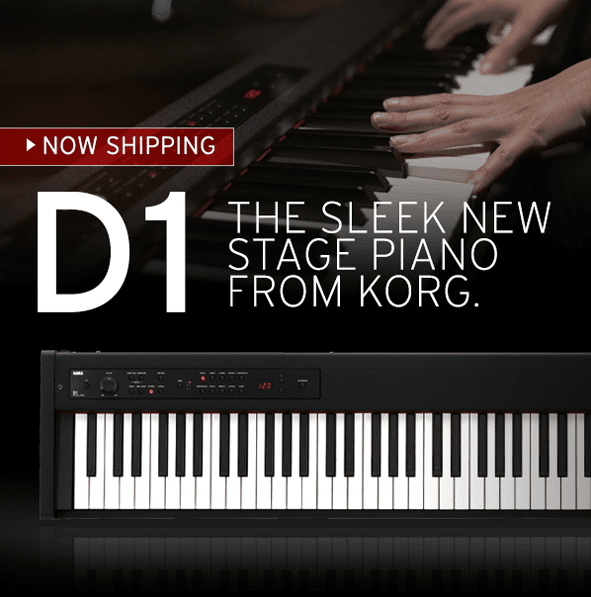 Korg D1 88-Key Digital Stage Piano with Pedal
