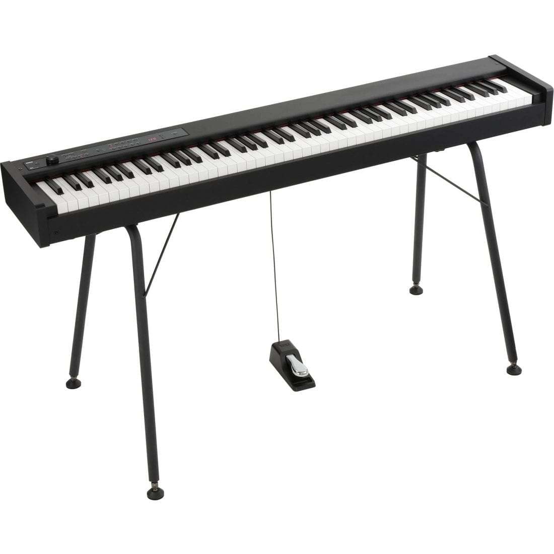 photo4less korg d1 88 key digital stage piano with pedal. Black Bedroom Furniture Sets. Home Design Ideas