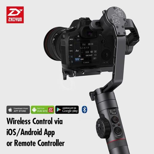 Zhiyun-Tech Crane-2 3-Axis Stabilizer with Follow Focus for Select Canon DSLRs