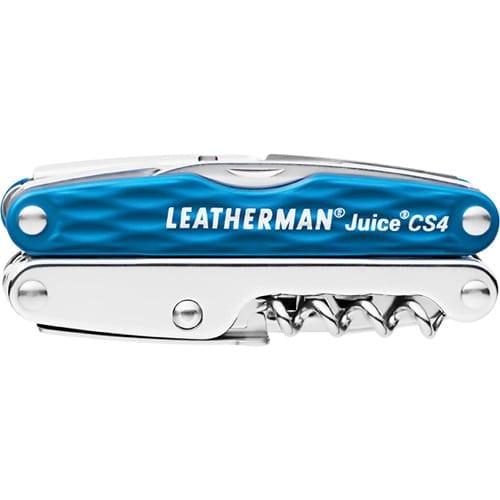 Leatherman - Juice CS4 Multitool, Columbia Blue with Leather Sheath