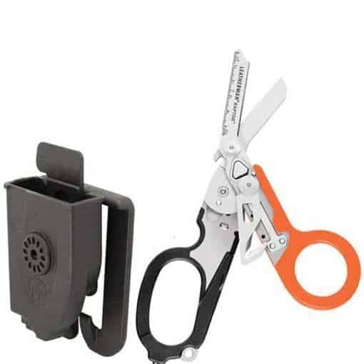 Leatherman – Raptor Shears, Black-Orange with MOLLE Compatible Holster