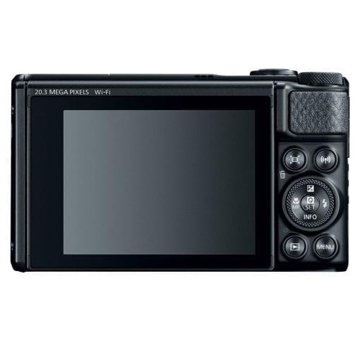 Canon PowerShot SX740 Digital Camera w/40x Optical Zoom & 3 Inch Tilt LCD - 4K VIdeo, Wi-Fi, NFC, Bluetooth Enabled (Black)