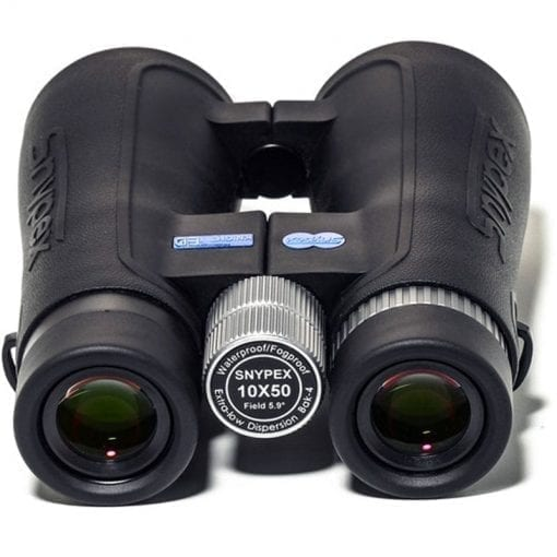 Snypex Optics New 2016 Knight 10×50 D-ED Waterproof/Fogproof Prism Binoculars with Extreme Low Light Capability