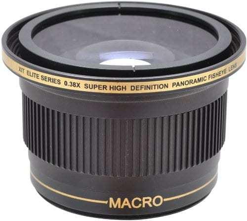 Xit XT3858F 52/58mm 0.38x Fisheye Lens (Black)