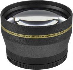 Xit XT2X72 72mm 2.2x Telephoto Lens (Black)