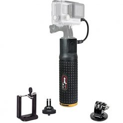 Vidpro PG-6 6000mAh Battery Hand Grip Monopod for Compact Digital Cameras, Camcorders, GoPro/Action, and Smartphones
