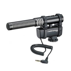 Audio-Technica AT8024 Stereo/Mono Microphone With Integrated Camera Shoe Mount