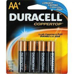 Duracell Batteries / 4 AA - size batteries