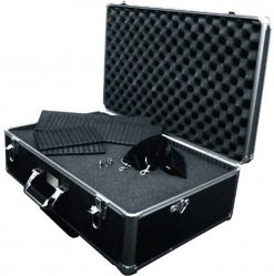 Xit XTHC60 Large Hard Photographic Equipment Case with Carrying Handle and Wheels (Black)