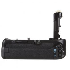 Vivitar BG-E14 Pro Series Multi-Power Battery Grip for EOS 70D & 80D DSLR Camera