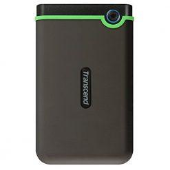 Transcend TS1TSJ25M3S Information 1 TB StoreJet M3 USB 3.0 Slim External Hard Drive, Grey