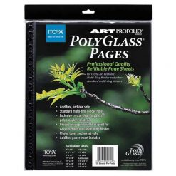 Itoya Art Portfolio Polyglass Refill Pages (Set of 10) Size: 11 x 14 PR-11-14