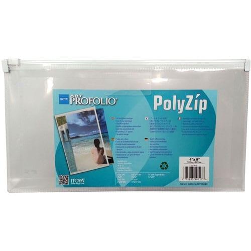 Itoya Polyzip Art & Photo Envelope 4X9