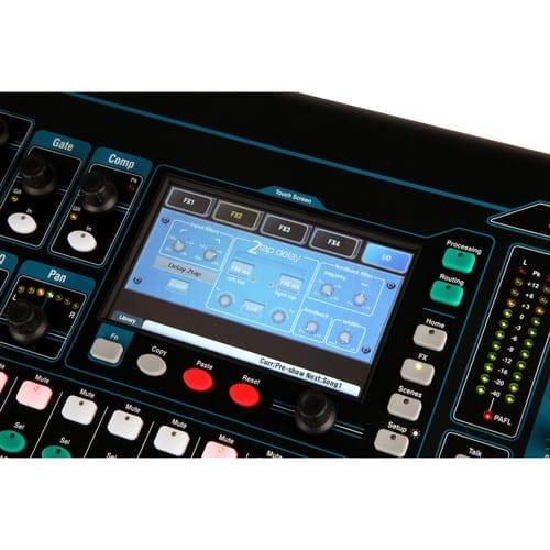 Allen & Heath QU-16C Rack Mountable Compact Digital Mixer, Chrome Edition