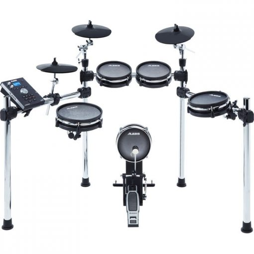 Alesis COMMAND MESH KIT Eight-Piece Electronic Drum Kit with Mesh Heads