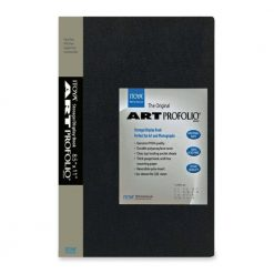 Itoya Archival Art Profolio Presentation Book - 60 - 8.5 x 11 Inches Pocket Pages, 120 Views (IA-12-8-60)
