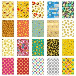 Xit 20 Sticker Frames for Fuji Instax Prints Emojies Package XTFSTICK20EMO