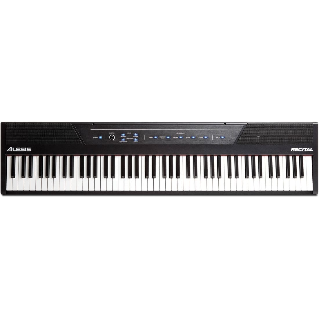 photo4less alesis recital 88 key beginner digital piano with full size semi weighted keys and. Black Bedroom Furniture Sets. Home Design Ideas