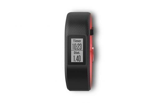 Garmin VivoSport Touch GPS Smart Activity Tracker Fitness Band (Small, Fuchsia) Refurbished