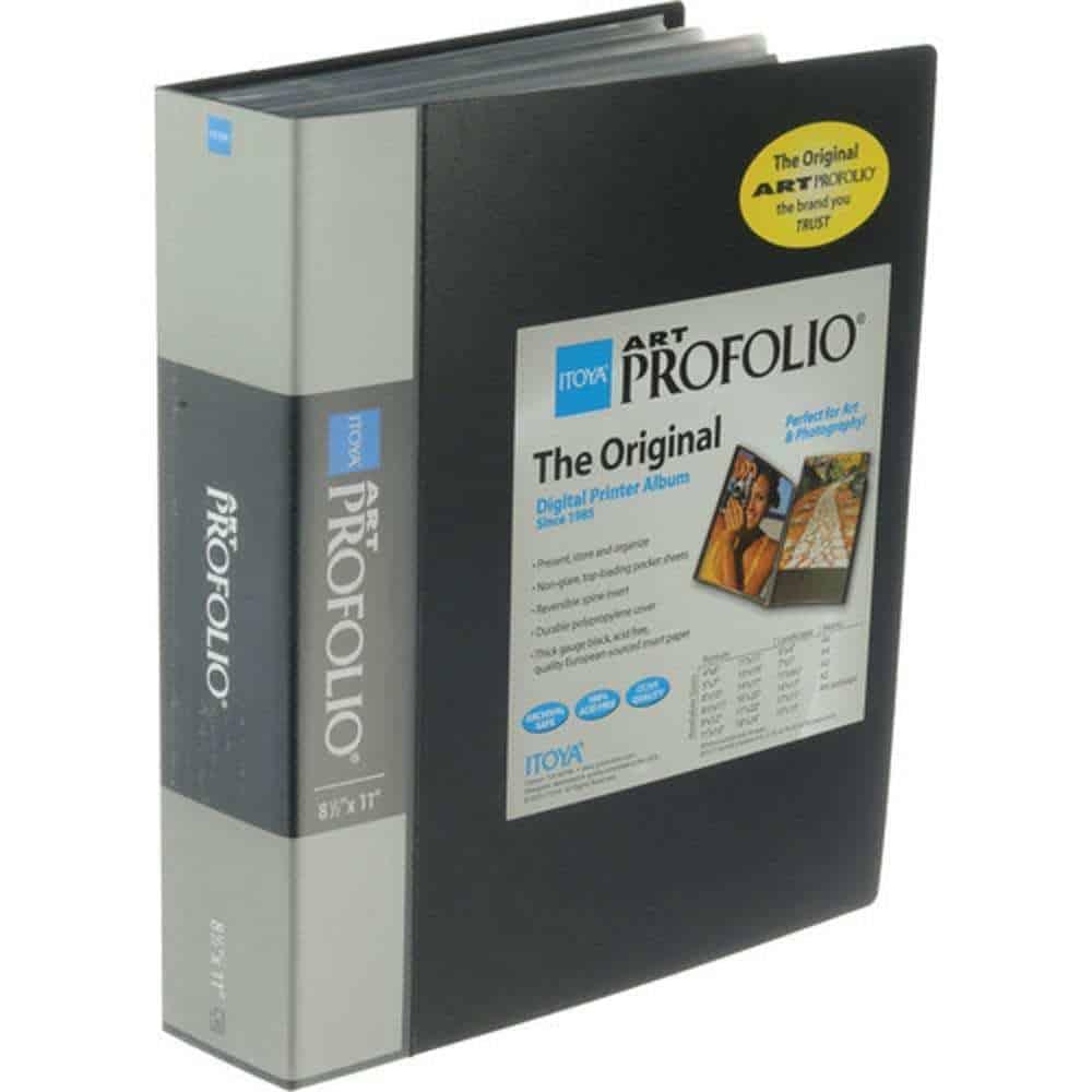 36-8.5 x 11 inch Pocket Pages, 72 Views Itoya Archival Art Profolio Presentation Book