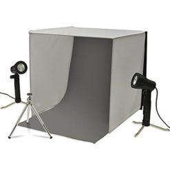 Xit XTPS101 Portable Photo Studio Lighting Kit (Black/White)