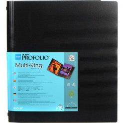 Itoya Art Portfolio Standard Binder Multi Ring Album Size: 8.5 x 11 RB811