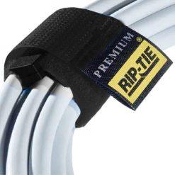 Rip Tie 1 x 6.5 Rip-Lock CableWrap 3 Pack, Black RLH-065-003-BK