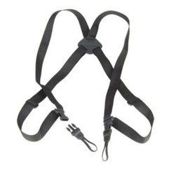 Op/Tech Bino/Cam Harness, Black Webbing, Bag 5301412