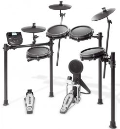 Alesis Nitro Mesh Eight Piece Electronic Drum Kit With Mesh Heads