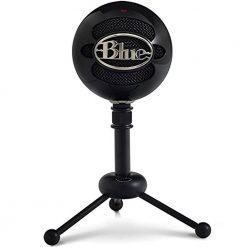 Blue Snowball USB Condenser Microphone Black