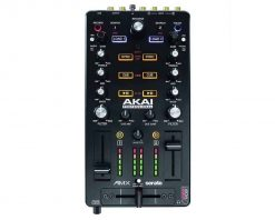 Akai Professional AMX | 2-channel Mixing Surface with Audio Interface for Control of 2-decks of Serato DJ Pro
